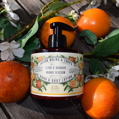 Panier des Sens Orange Blossom Hand and Body Lotion.