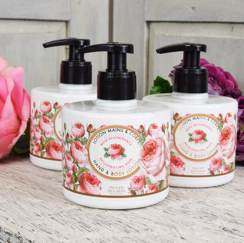 Panier des Sens Rejuvenating Rose Hand and Body Lotion
