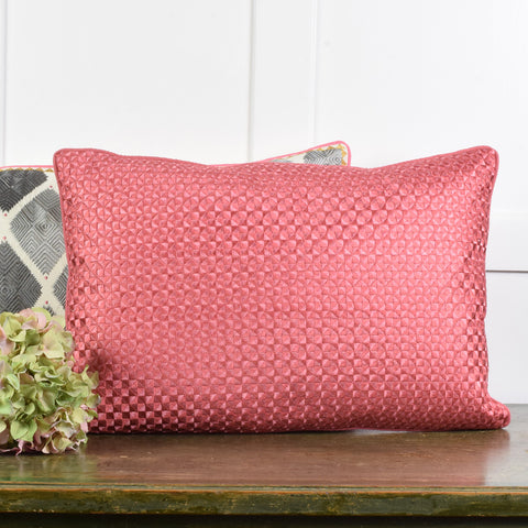 Mosaic Crimson Cushion.