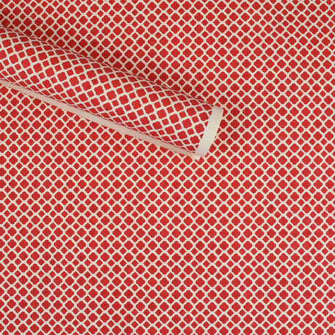 Wrapping Paper. Red Diamond Pattern.