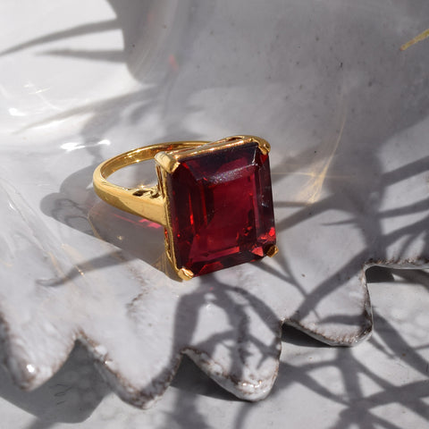Ruby Red Ring.