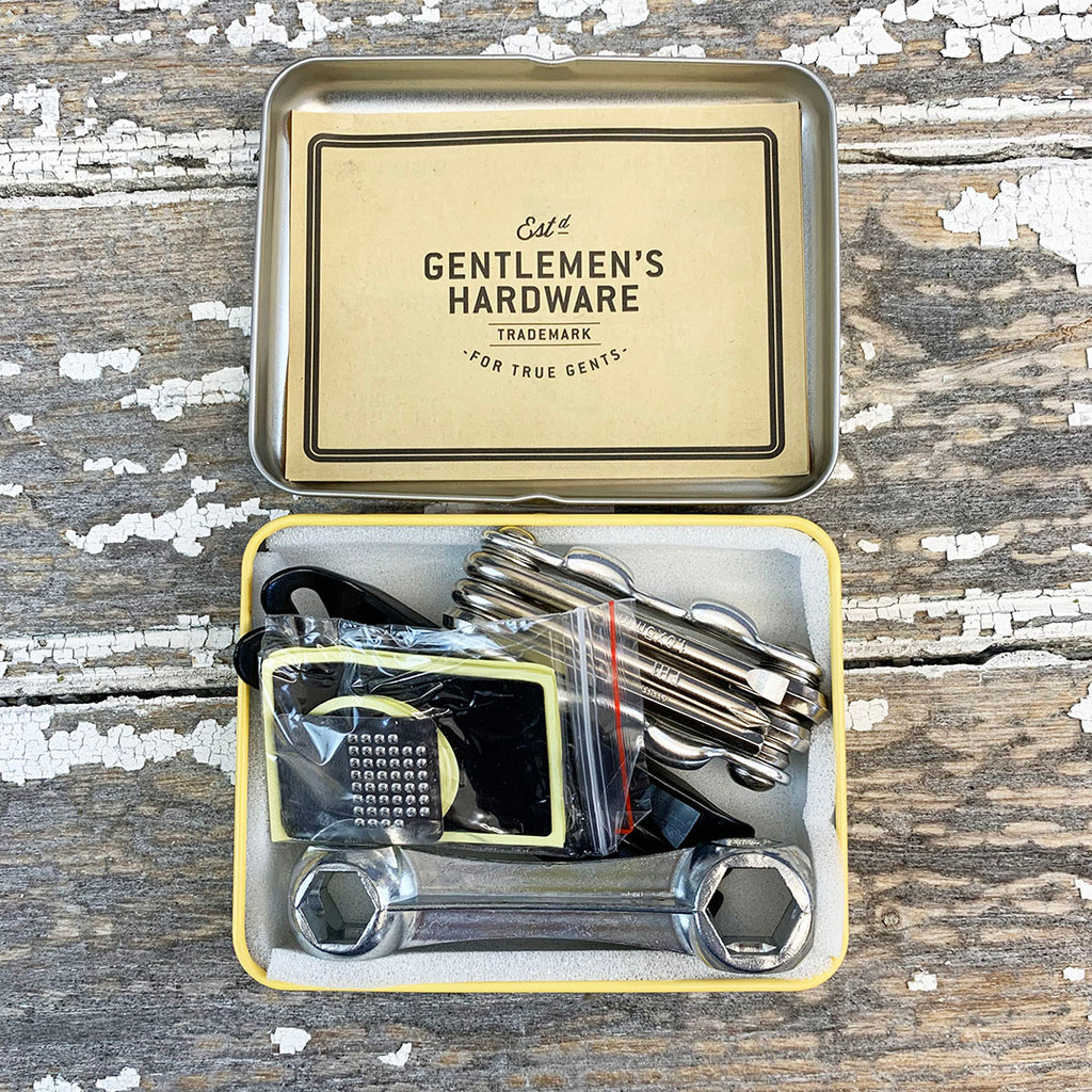 Gentlemen's Hardware Bicycle Puncture Repair Kit.