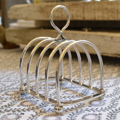 Antique Silver Toast Rack.