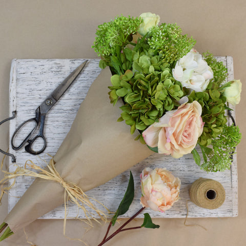 Abigail Ahern Flowers: Faux Summer Bouquet.