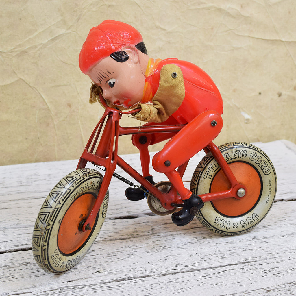 Vintage Toy 1930 S Gyro Cycle Robotic Toy Curated Living