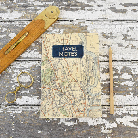 Vintage Map Notepads. Stratford