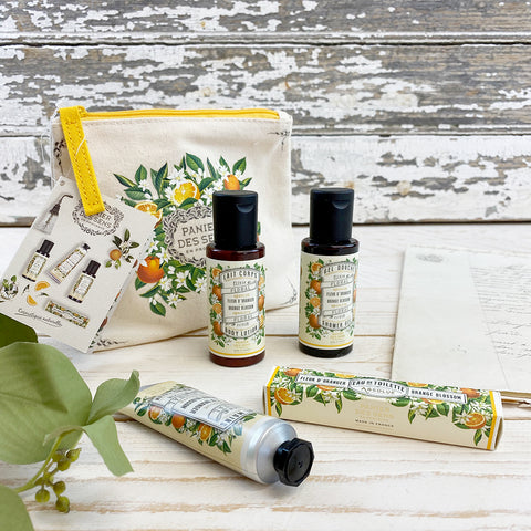 Panier des Sens Absolute Orange Blossom Gift/Travel Set.