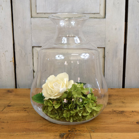 Rasteli Small Clear Wave Glass Vase