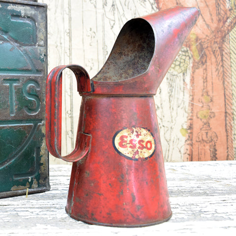 Vintage Esso Oil Pouring Can.