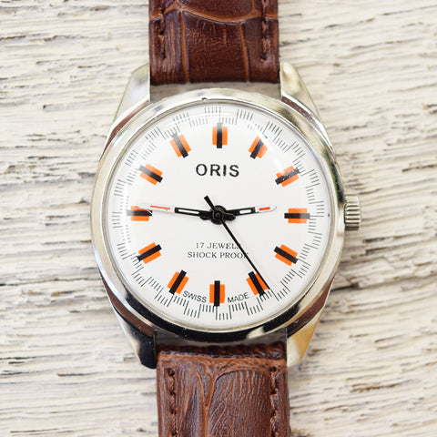 1980's vintage Oris wrist watch
