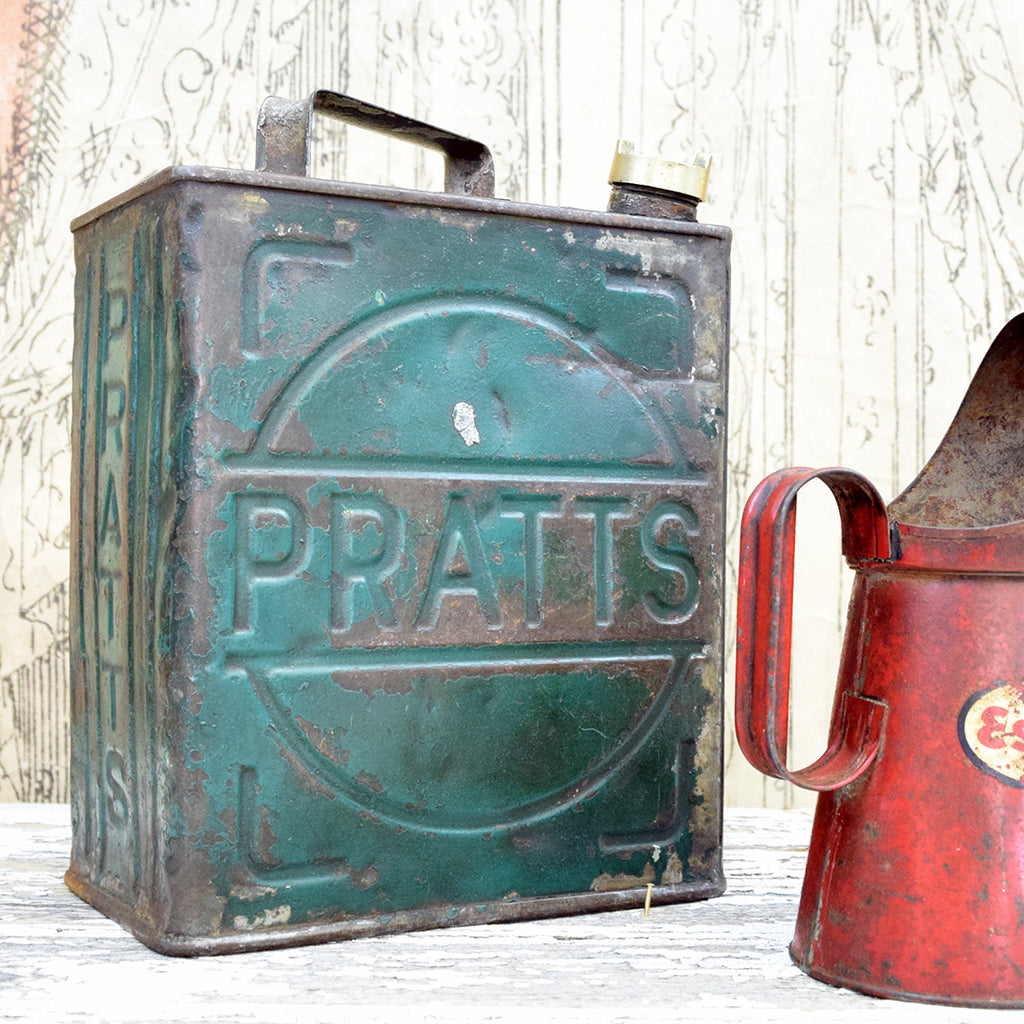Vintage Pratts Oil Can.