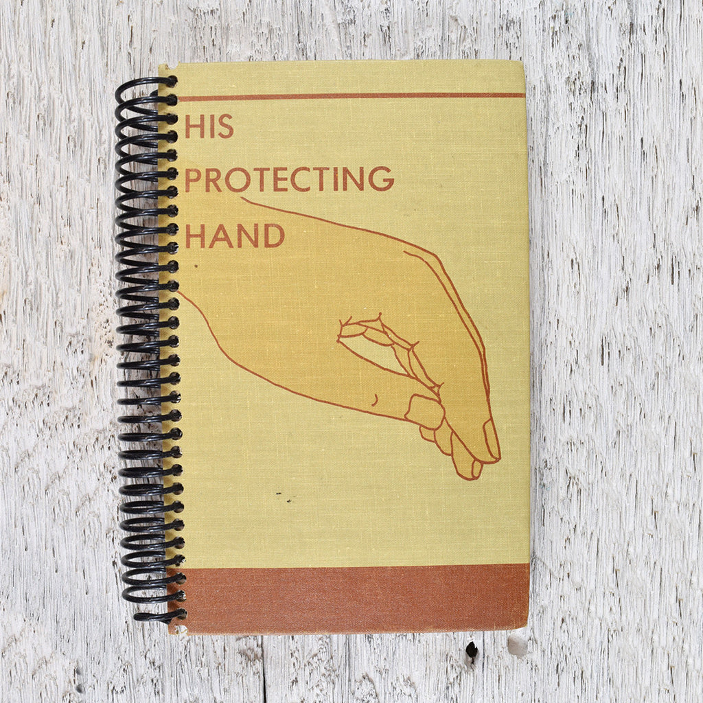 Vintage His Protecting Hand notebook