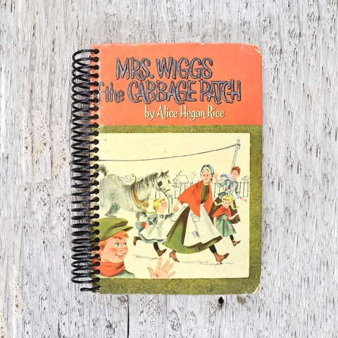 Mrs Wiggs and the Cabbage Patch notebook