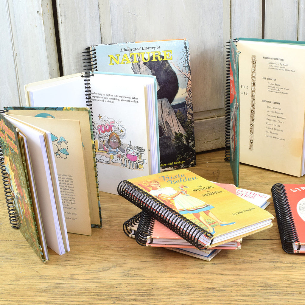 Vintage notebooks