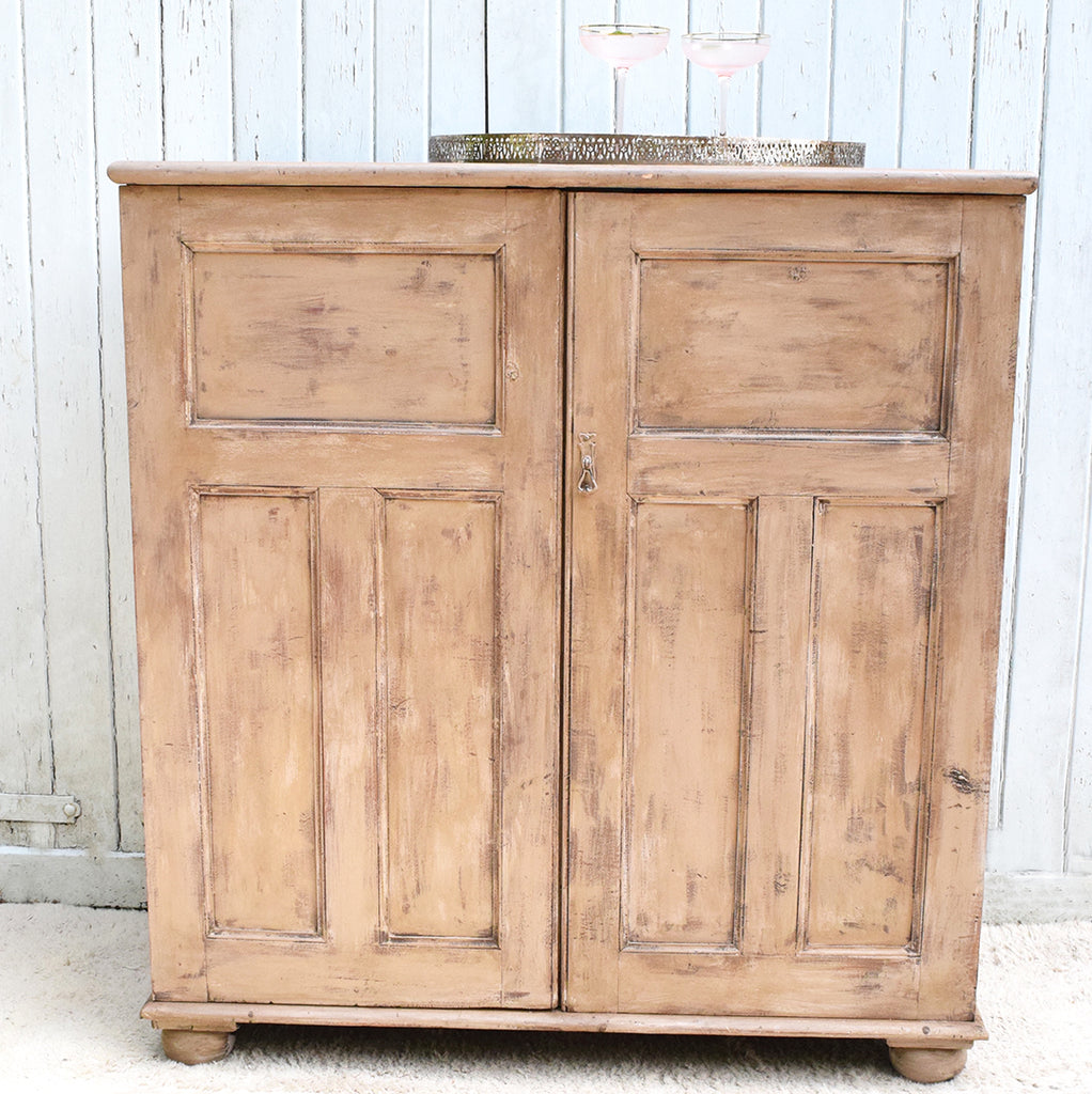 Painted Vintage Tall Cabinet