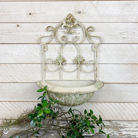 Decorative Vintage Style Wall Planter