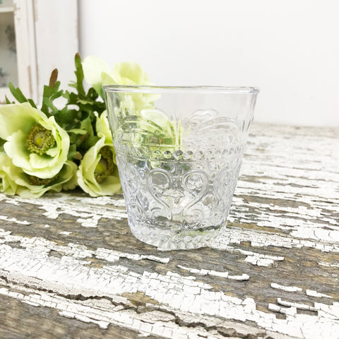 Vintage Tumbler Glasses. Set of Six.