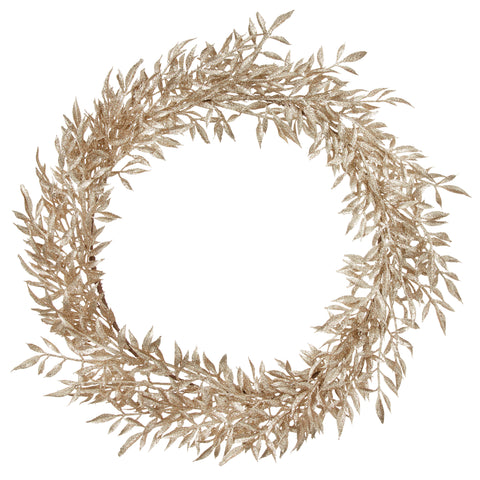 Gold Leaf Wreath Large.