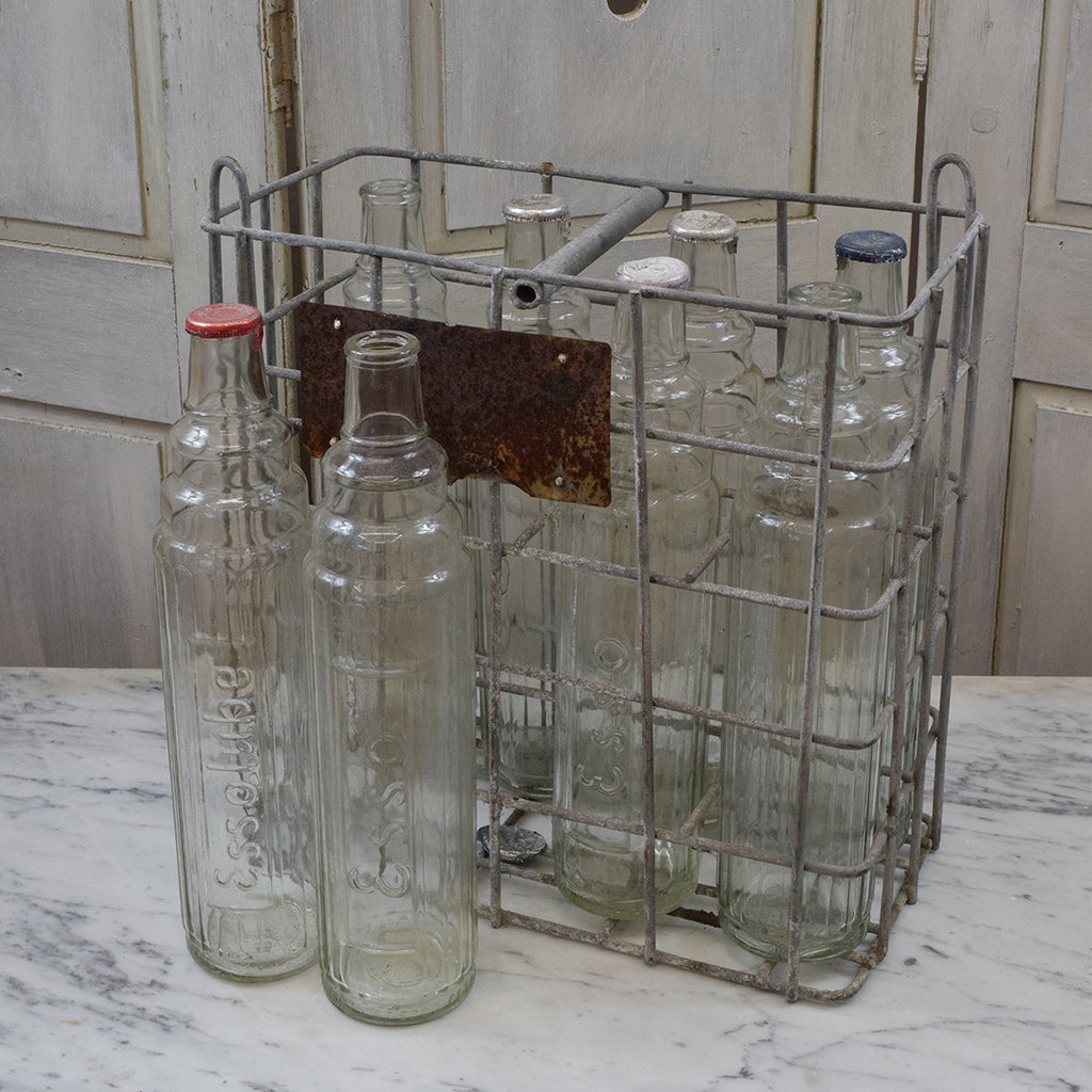 Rare Vintage Bottle Carrier
