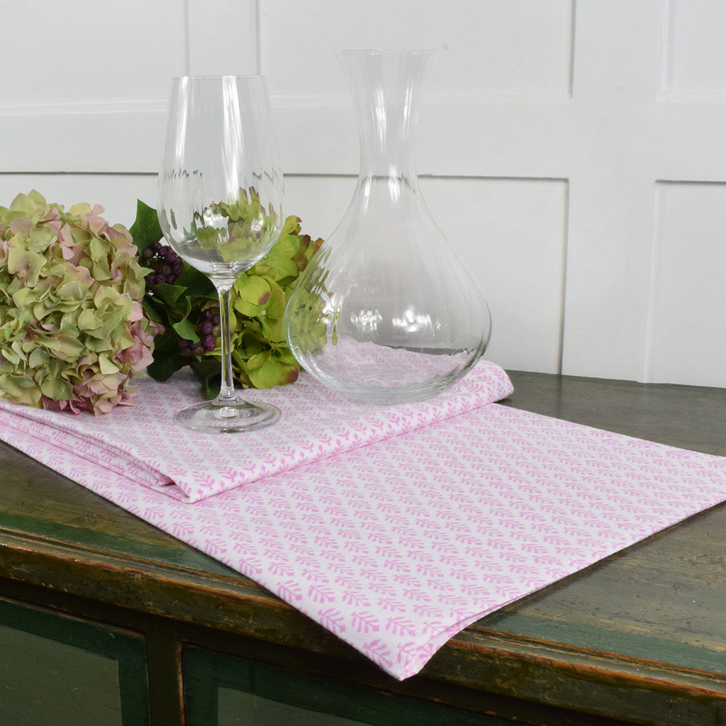Neem Rose Table Cloth. Small.