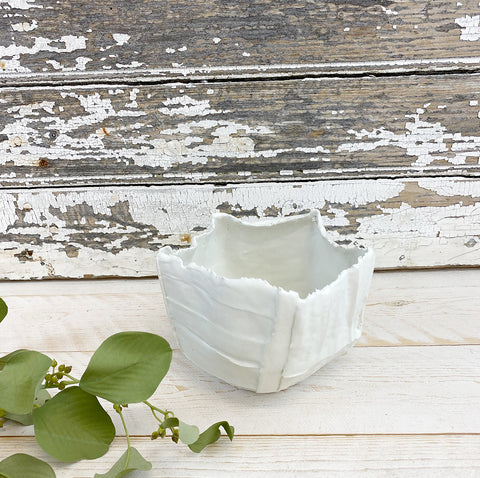 Paola Paronetto Ceramic Paper Clay Bowl