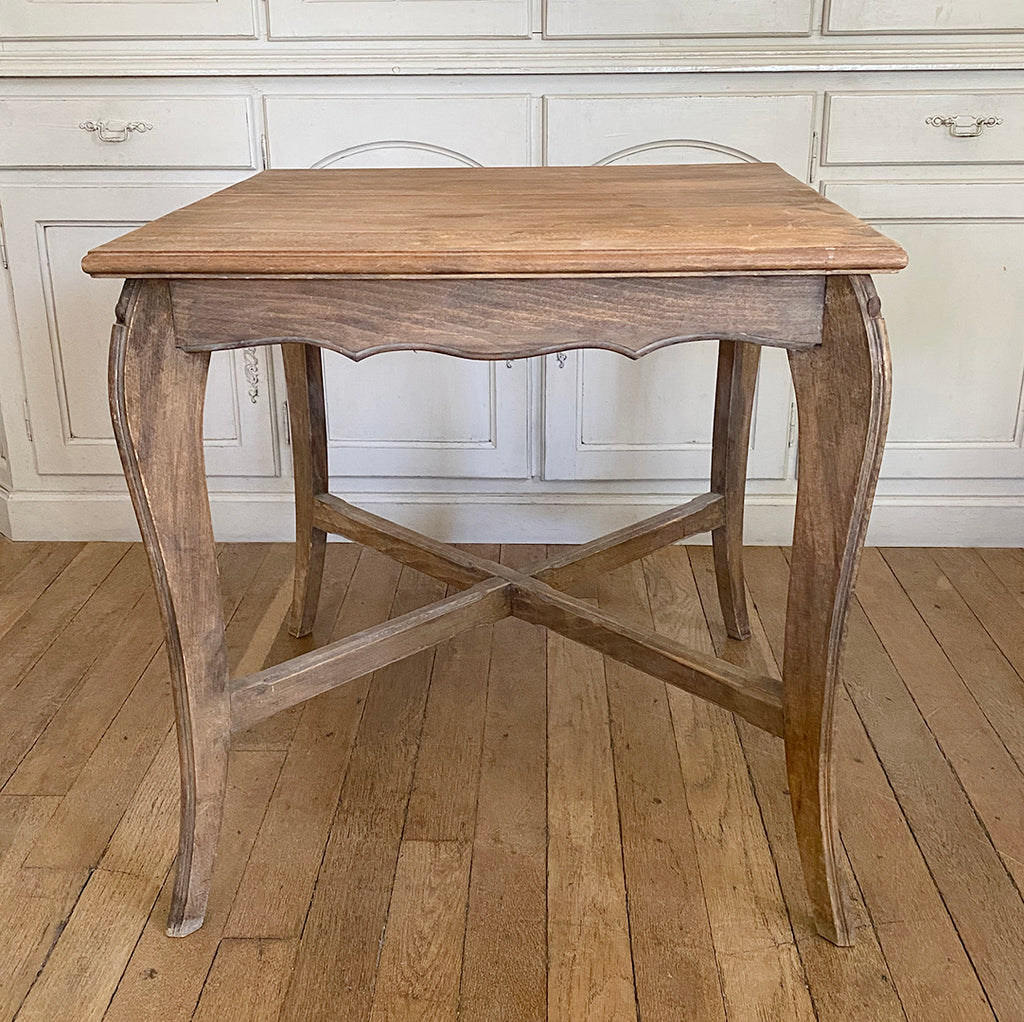 Vintage Square French Bistro Table