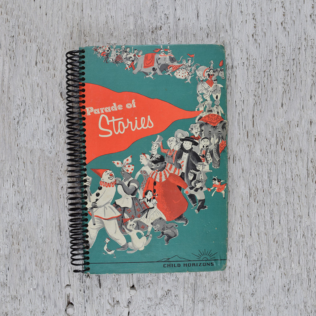 Vintage Parade of Stories notebook