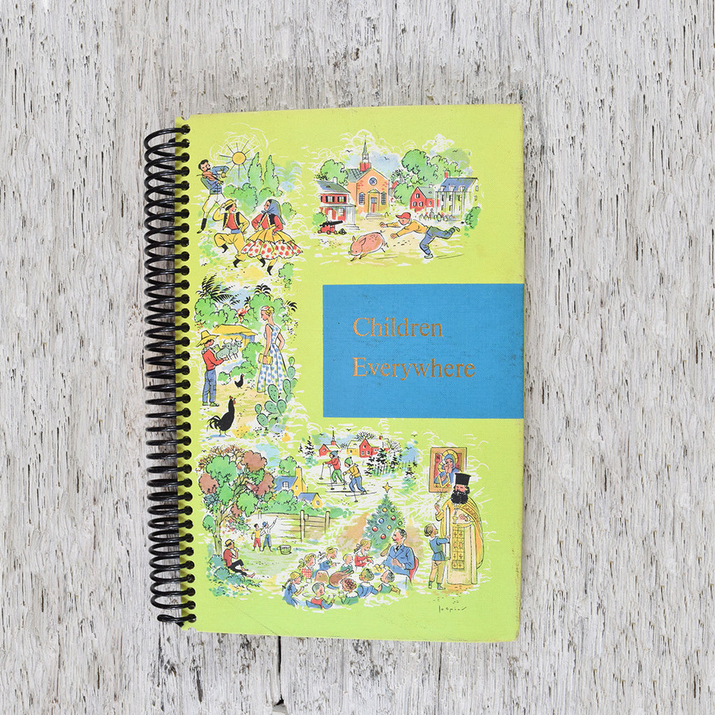 Vintage Children Everywhere notebook