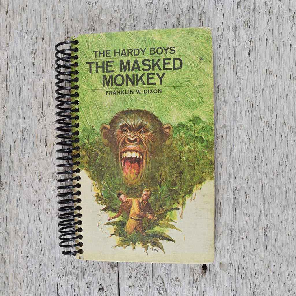 Vintage The Masked Monkey notebook