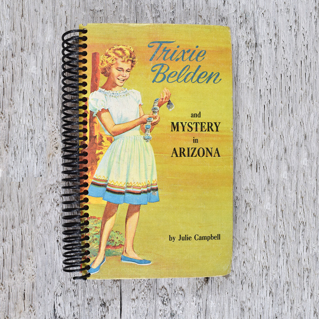 Vintage Trixie Belden notepad