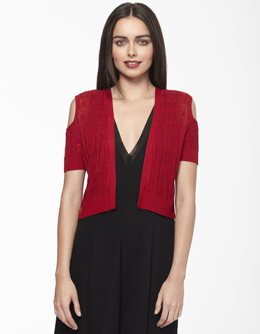 Open Shoulder Bolero Shrug