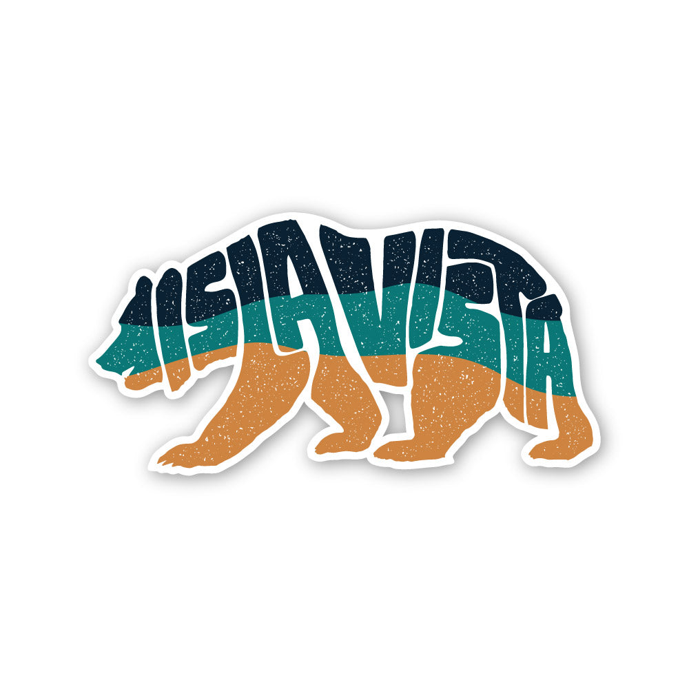 IV Bear Sticker