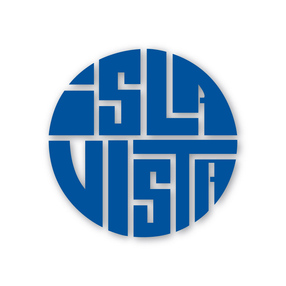 "Isla Vista Circle 3.5"" Sticker"