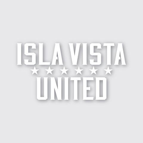 "Isla Vista United 5.5"" Sticker"