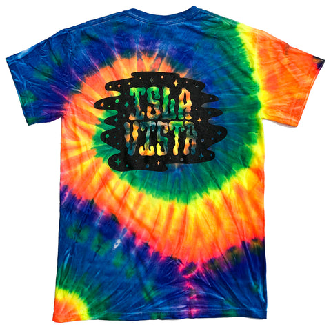 Vista Blowin' Smoke Tie Dye Tees - Rainbow