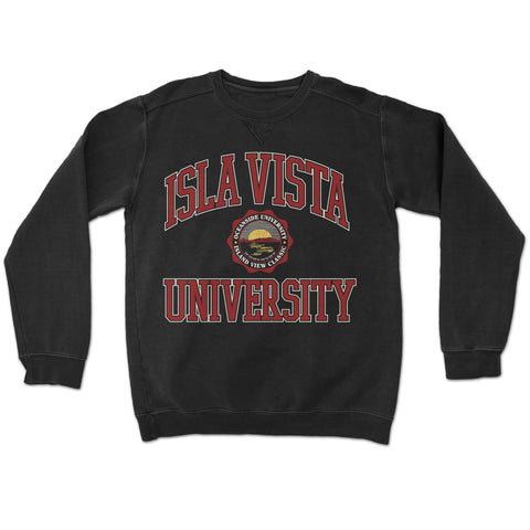 Isla Vista University Pigment Crewneck
