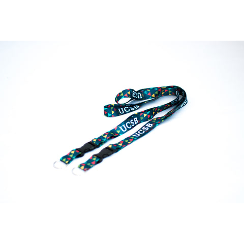 UCSB Patterned Lanyard