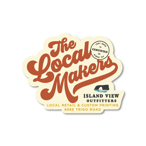 The Local Makers Sticker