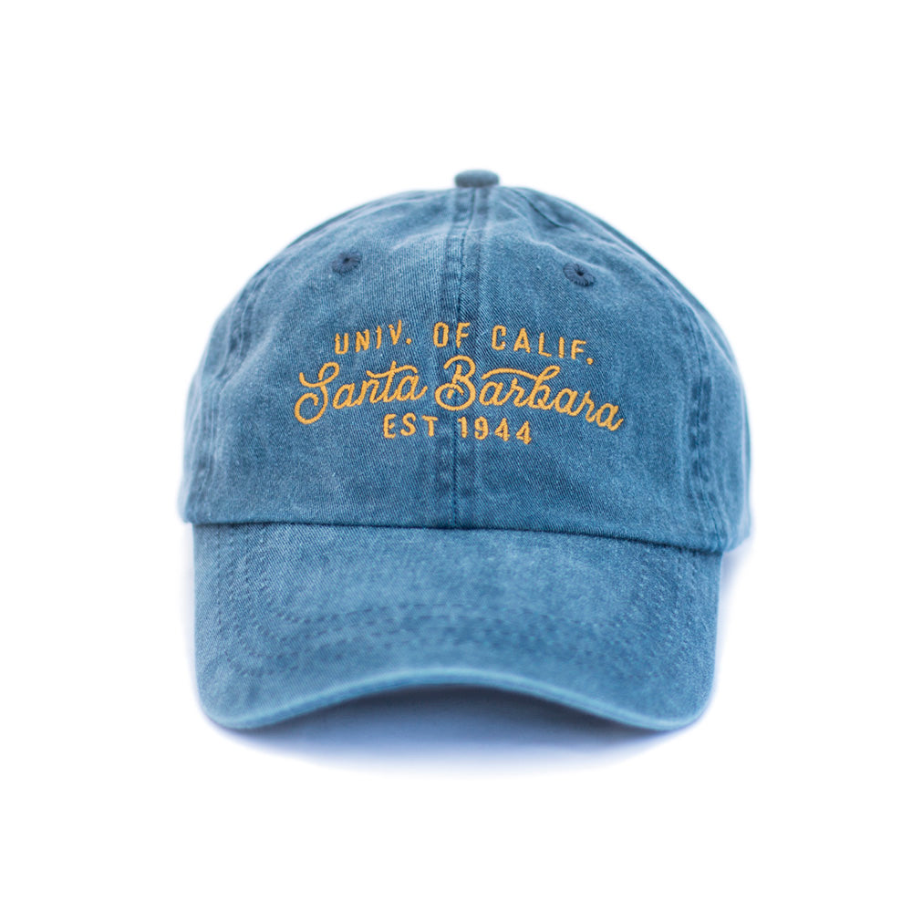 UCSB Pigment Dyed Old Gold Cap – Island View Outfitters 9221131d2a67