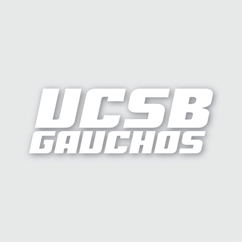 UCSB Gauchos Sticker