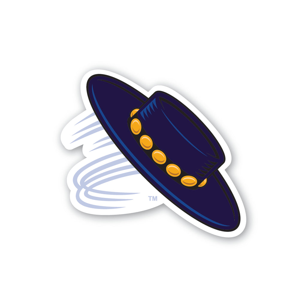 UCSB Gaucho Hat Sticker