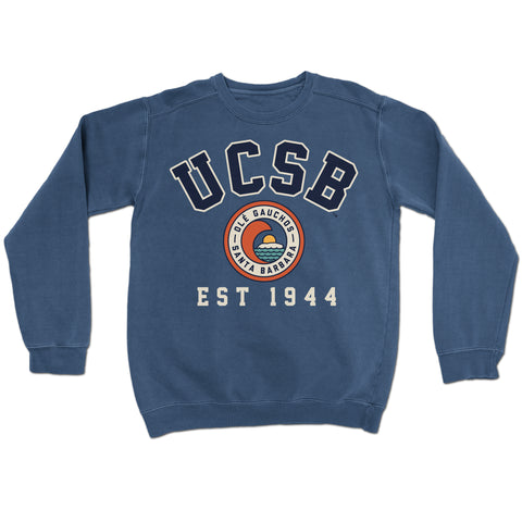 UCSB Pigment Dyed Crewneck
