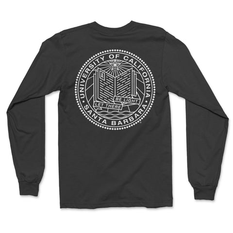 UCSB Modern Seal Long Sleeve Tee