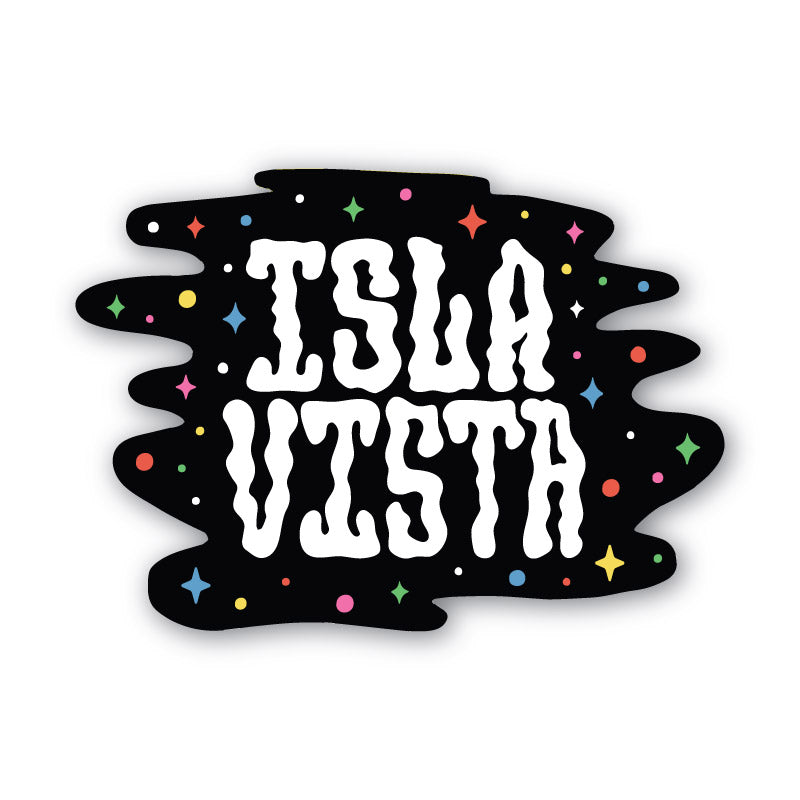 Isla Vista Blowin' Smoke Sticker