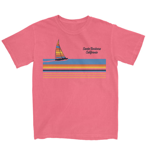 Set Sail Santa Barbara Tee