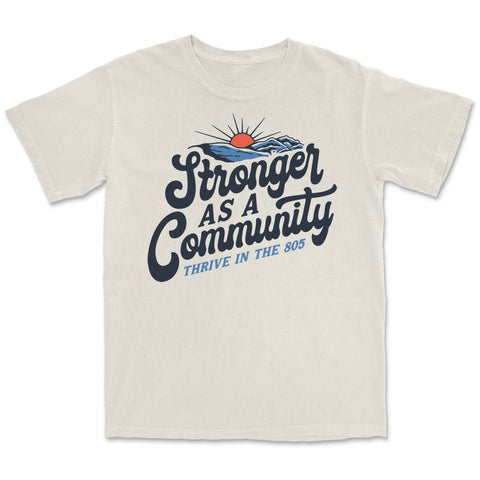 Stronger as a Community Tee