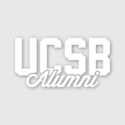 "UCSB Alumni 5.5"" Sticker"
