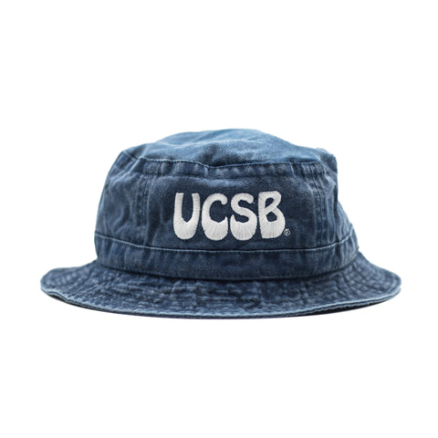 UCSB Pigment Navy Bucket Hat