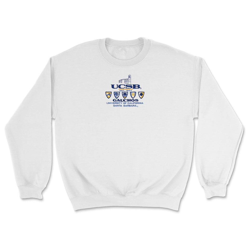 UCSB Embroidered Classic Crew