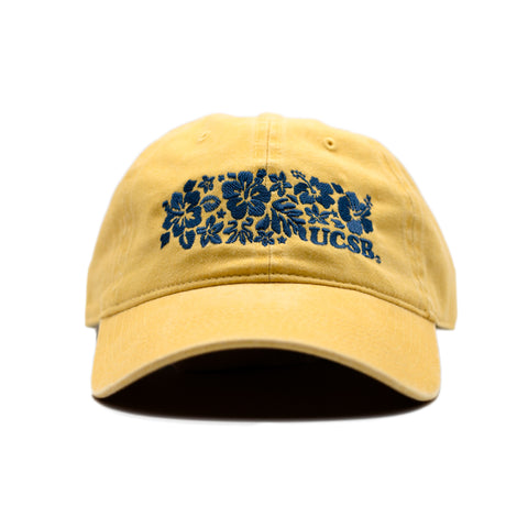 UCSB Old Days Hibiscus Dad Hat